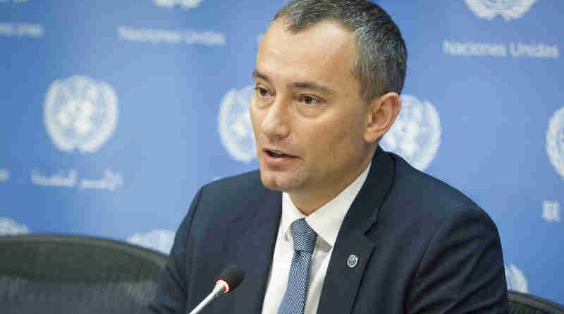 Nickolay Mladenov, UN Special Coordinator for the Middle East Peace Process. (file) UN Photo / Loey Felipe