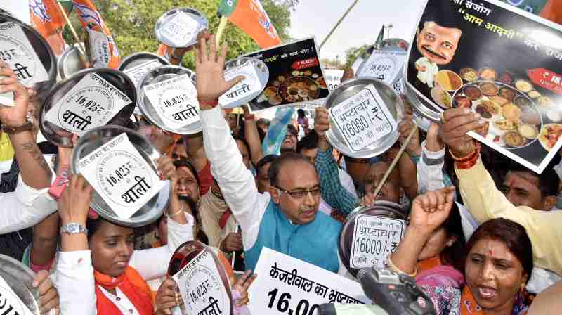 BJP's Pol Khol Campaign Highlights Corruption in Delhi