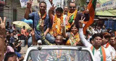 BJP Campaigning for MCD Election in Delhi