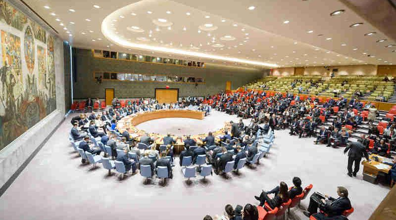Meeting of the Security Council to discuss the alleged use of chemical weapons in the Khan Shaykhun area of southern Idlib, Syria. UN Photo / Rick Bajornas (file photo)