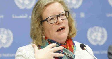 Christine Lins, Executive Secretary of Renewable Energy Policy Network for the 21st Century (REN21). UN Photo / Evan Schneider
