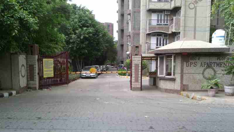 Illegal Car Parking at DPS Cooperative Group Housing Society in Dwarka, New Delhi