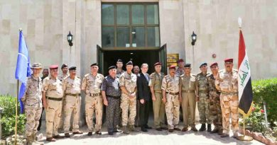 NATO Helps Iraq Fight Against Terrorism