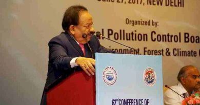 Need to Clear Pollution of Corruption from the System: Dr. Harsh Vardhan