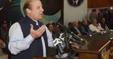 Former Pakistan Prime Minister Nawaz Sharif (file photo). Courtesy: Pakistan PM Office