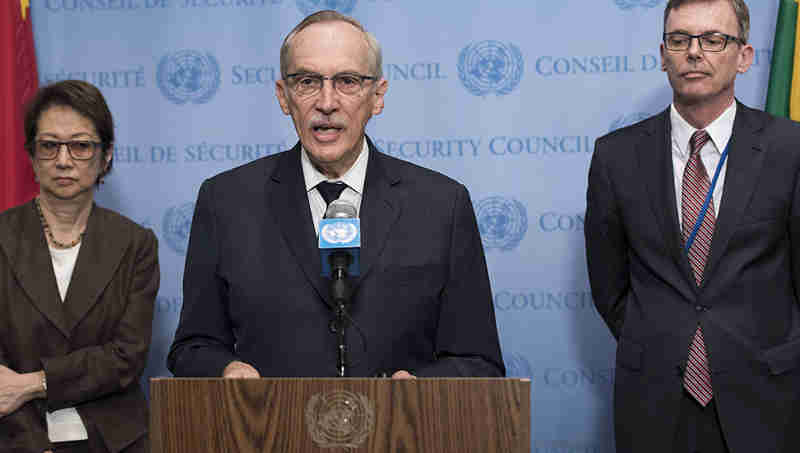 Edmond Mulet, Head of the Security Council Joint Investigative Mechanism on Chemical Weapon Use in Syria. Photo: UN Photo/ Mark Garten