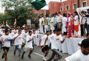 Olympian Wrestler Sushil Kumar Participates in Slum Yuva Daud