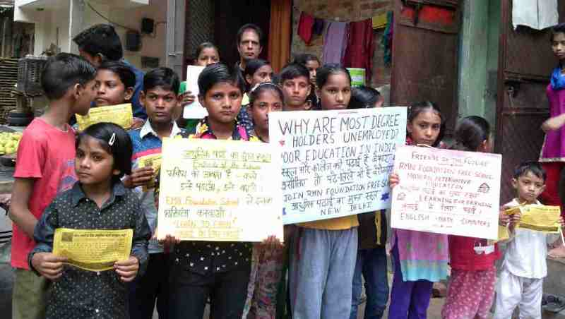 RMN Foundation Launches Education Awareness Campaign in Delhi