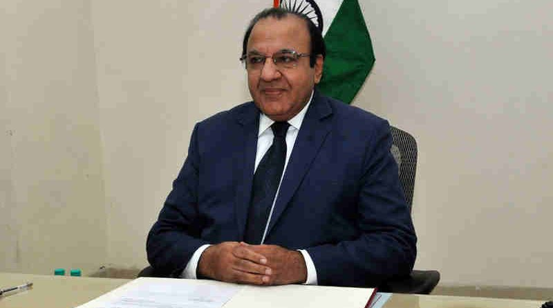 Achal Kumar Joti taking charge as the Chief Election Commissioner of India (CEC), in New Delhi on July 06, 2017