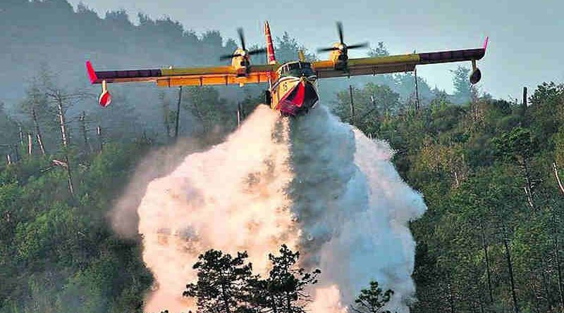 NATO Provides Swift Forest Fire Assistance to Montenegro