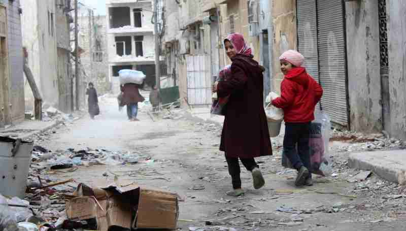Internally Displaced People Return to Syria