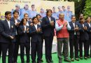 Defeated Indian Women Cricket Team Felicitated