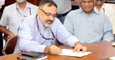 Rajiv Gauba takes over as Union Home Secretary, in New Delhi on August 31, 2017