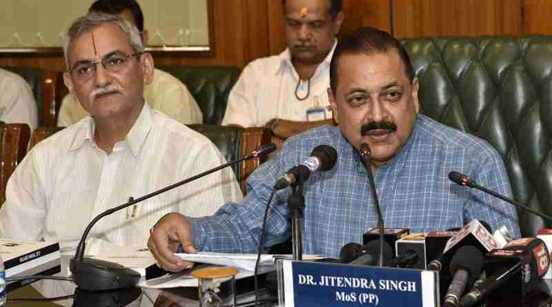 Indian Minister Dr. Jitendra Singh Releases Vigilance Manual 2017 (file photo). Courtesy: CVC