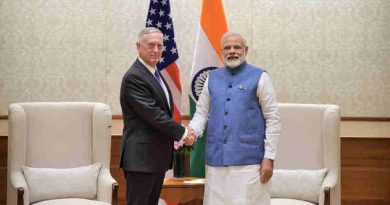 The US Defence Secretary, Mr. Jim Mattis calls on the Prime Minister, Shri Narendra Modi, in New Delhi on September 26, 2017.