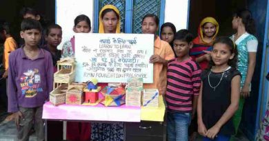 The decoration products made by the children of RMN Foundation school are now ready to go to the market.
