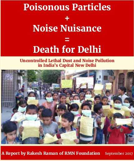 Report on Pollution in Delhi