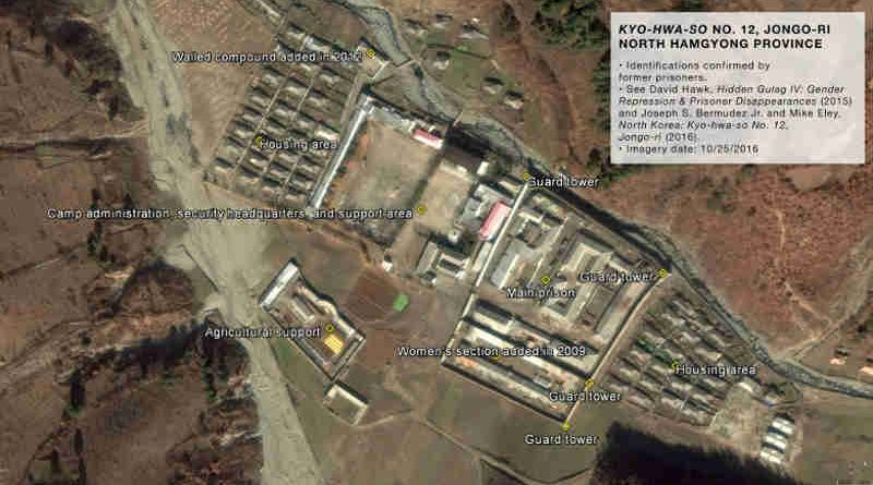 Satellite Images Reveal Cruelty in North Korea Prisons. Photo: HRNK