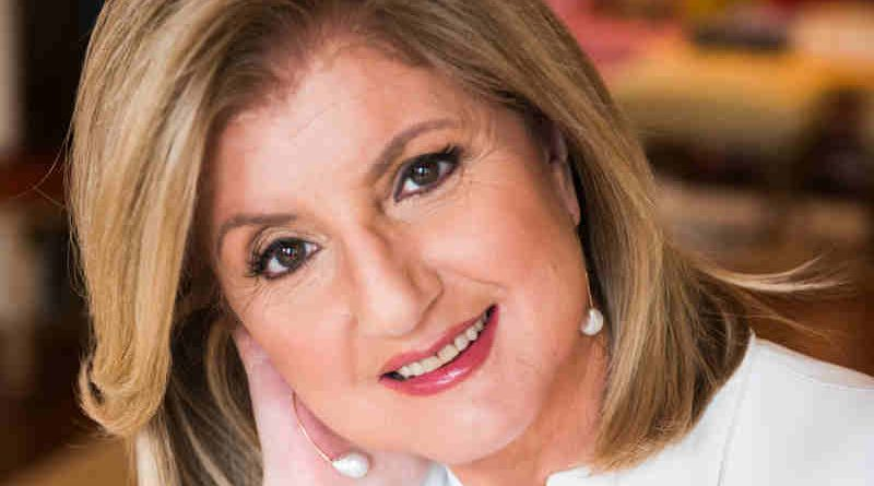 Arianna Huffington, founder and CEO of Thrive Global