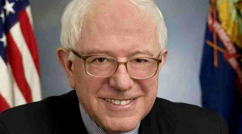 United States Senator Bernie Sanders (I-VT), official Senate portrait