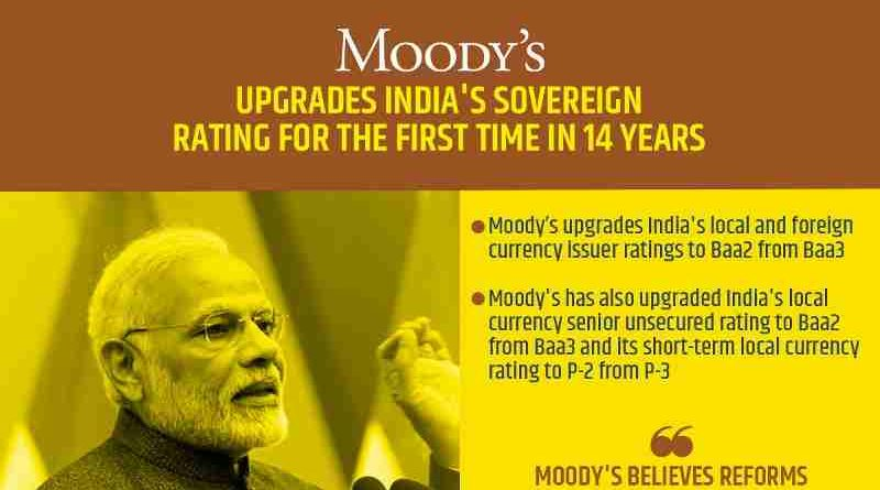 PM Modi Helped India Get Higher Moody's Rating: BJP