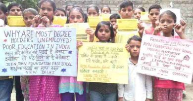 RMN Foundation launched an education awareness campaign in Delhi. Click the photo to see the campaign.