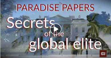 Paradise Papers. Image courtesy: ICIJ