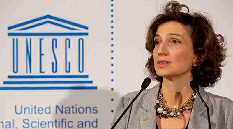 UNESCO Director-General, Audrey Azoulay. Photo: UNESCO/C. ALIX