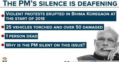 Rahul Gandhi Deplores PM Modi's Silence over Violence