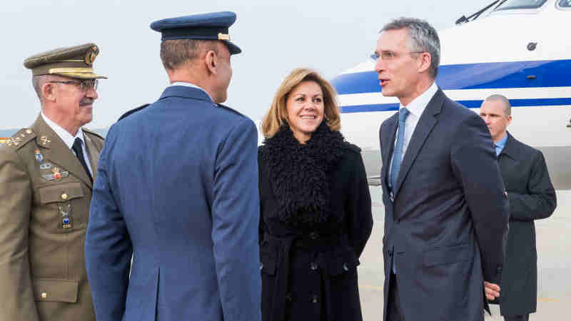 NATO Secretary General Jens Stoltenberg in Spain. Photo: NATO