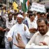 Anna Hazare Begins Hunger Strike Against Corruption in Modi Govt