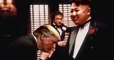 Donald Trump with Kim Jong-Un. Photo courtesy: DPRK News Feed