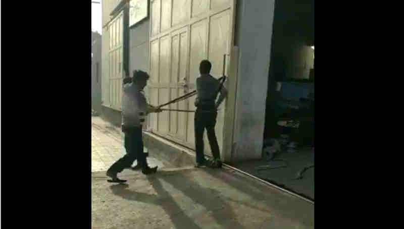 Dalit Beaten to Death