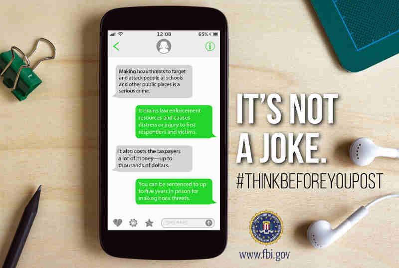 FBI Launches #ThinkBeforeYouPost Campaign