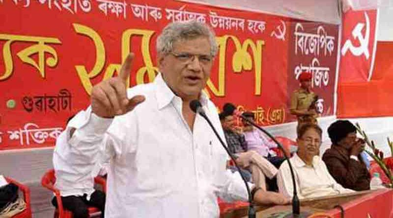 Sitaram Yechury (file photo). Courtesy: CPI(M)