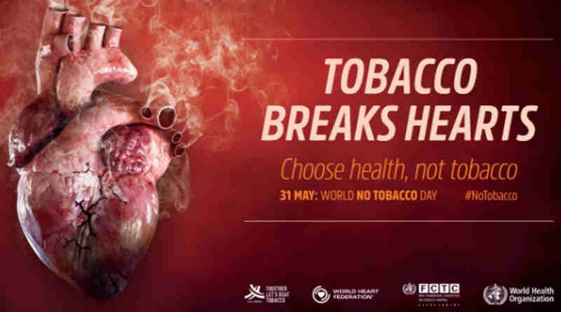 World No Tobacco Day. Photo: WHO