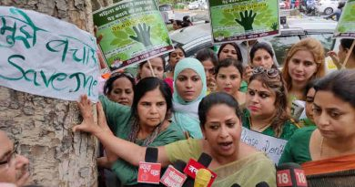 Mahila Congress Holds Save the Tree Campaign in Delhi (file photo)
