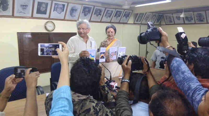 CPIM General Secretary Sitaram Yechury and Polit Bureau member Brinda Karat. Photo: CPIM