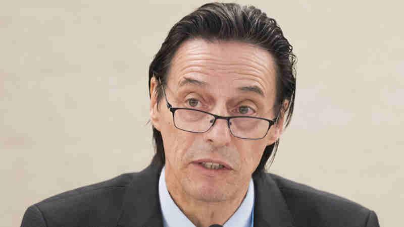 Vojislav Šuc, President of the Human Rights Council. UN Photo/Jean-Marc Ferre