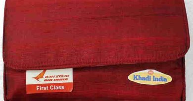 Amenity Kits of KVIC for Air India International passengers.