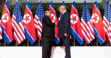 Donald Trump and North Korean leader Kim Jong-un concluded their meeting in Singapore on June 12, 2018. Photo: White House