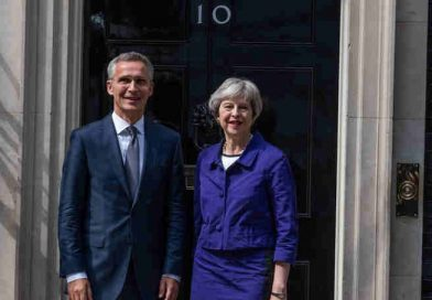 NATO Chief Visits UK Ahead of Brussels Summit