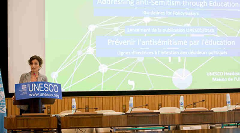Addressing Anti-Semitism through Education – Guidelines for Policymakers. Photo: UNESCO