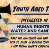 Youth Challenge: Human Rights to Safe Drinking Water