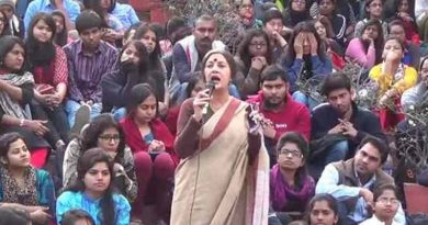 Communist Leader Brinda Karat Addressing Students in the JNU Case (file photo)