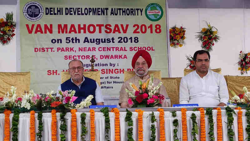 Delhi Development Authority to Plant 10 Lakh Trees in Delhi
