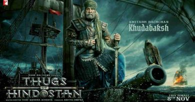 Amitabh Bachchan as Khudabaksh in Thugs of Hindostan