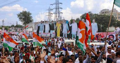 Rahul Gandhi Starts Congress Sankalp Yatra. Photo: Congress