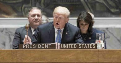 US President Donald Trump presides over a meeting of the Security Council on the non-proliferation of weapons of mass destruction on 26 September, 2018. UN Photo / Mark Garten