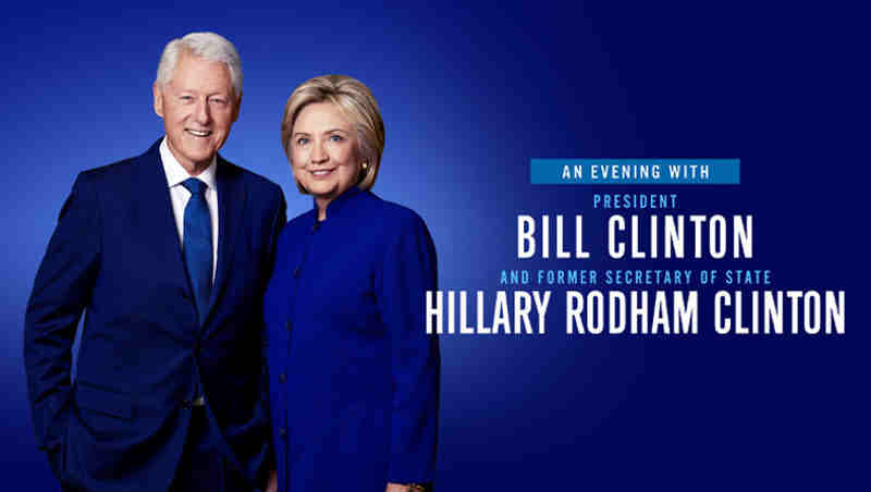 An Evening with Bill Clinton and Hillary Clinton